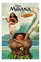キャラクターポスター、映画ポスター、モアナと伝説の海 MOANA ディズニーポスター A3サイズ(42x30cm)