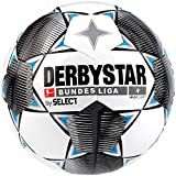 Derbystar Kinder Bundesliga Magic Light Fußball, weiß schwarz blau, 5