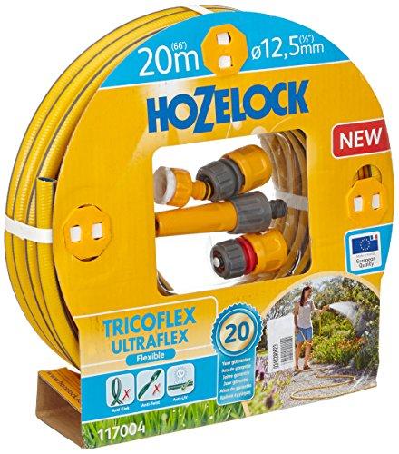 Preisvergleich Produktbild Hozelock 20 m Tricoflex Ultraflex Schlauch Starter-Set (12, 5 mm Durchm.)