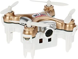 OUYAWEI Cheerson CX-10WD-TX 2.4GHz 4CH 6-axis WiFi FPV Quadcopter 3D Eversion Mini Drone with 0.3MP Camera Gold Without Remote Control