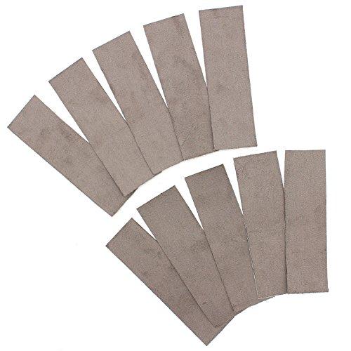 10x Alcantara - Rakelfilz Filzkante für Rakel Selbstklebend Folienrakel