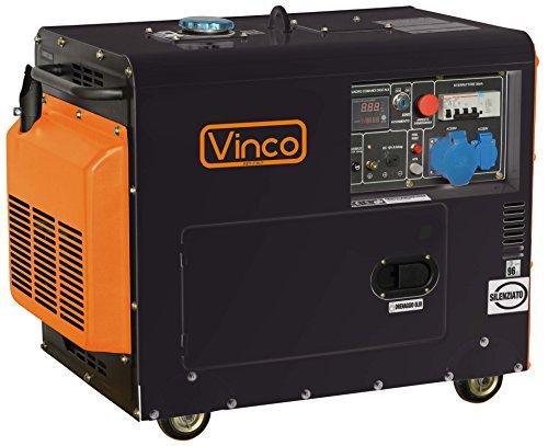 GENERATORE CORRENTE VINCO HP6700LN TRIFASE