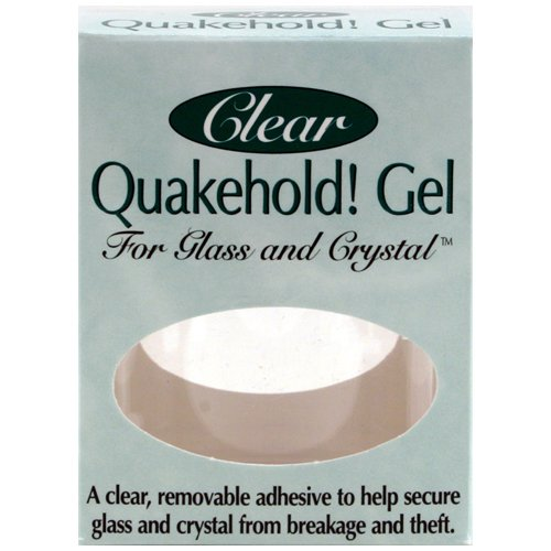 Quakehold Reservation 22111 Gel Beauty products for Crystal Clear Glass and