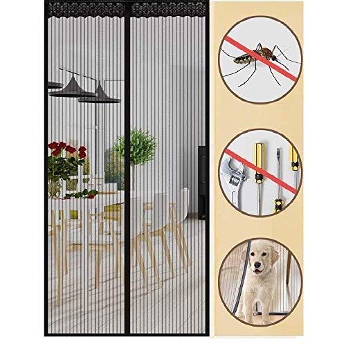 Magnet Fliegengitter Tür Insektenschutz Fliegenvorhang Insektenschutz Magnetvorhang Für Balkontür Terrassentür Wohnzimmer