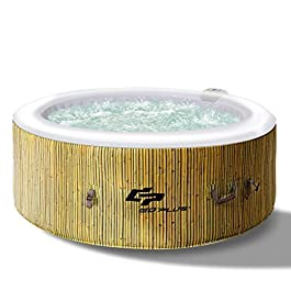 Goplus 4-6 Person Outdoor Spa Inflatable Hot Tub for Portable...