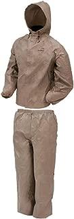 Frogg Toggs DriDucks Ultra-Lite 2 Rain Suit Khaki Large
