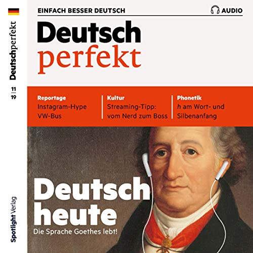 Deutsch perfekt Audio. 11/2019 cover art