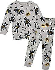 Unifriend 30s 伸縮性のある長袖 男児 キッズ パジャマ オーガニック 綿100% 子供 ルームウェア ねまき 上下セット