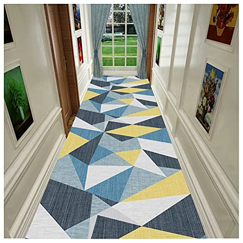 Alfombra De Pasillo Alfombra por Metros Patrón Estéreo HD Área Casa Base PVC Antideslizante Y Aislante Diseño Puzzle Colores (Color : A, Size : 120x180cm)