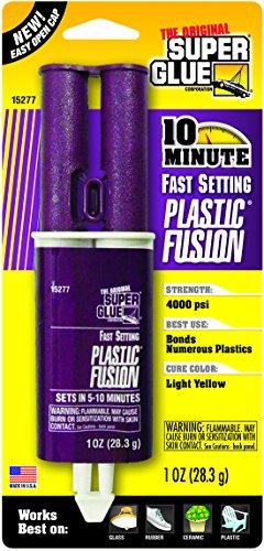 Super Glue Plastic Fusion Epoxy Adhesive, #15277