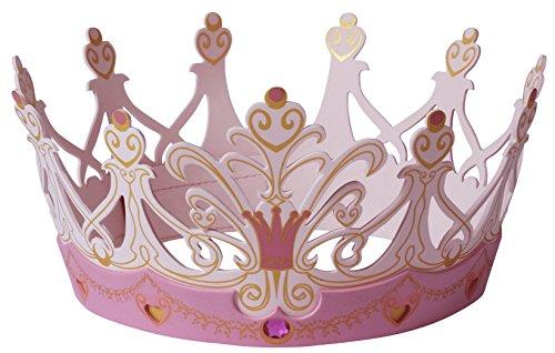 Liontouch 25107LT schuimstof kroon, koningin roze | deel van een kostuum voor kinderen