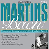 Martins' Bach-Complete Keyboard Works Vol. 6