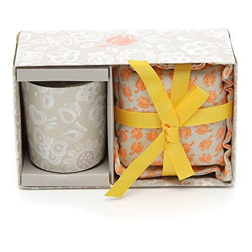 candele profumate thun THUN Everyday Set Candela Media + Cuscino Piccolo Tulip