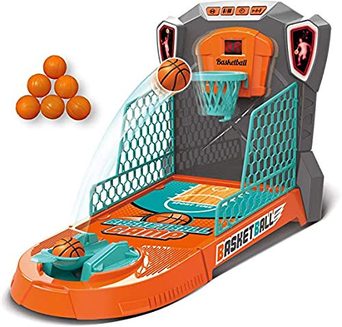 LENLE Children's Basketball Basketball Machine Machine Catapult Ball Board Game Football Bowling Cool Play Interactive Educational Juguetes