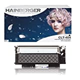 Hainberger, cartucce XL per toner, compatibili con Samsung CLT-404S Xpress C 430 W, C 480 W, C 480 FN, C 480 FW, CLT-K404S, CLT-C404S, CLT-M404S, CLT-Y404S, 4 pezzi Nero