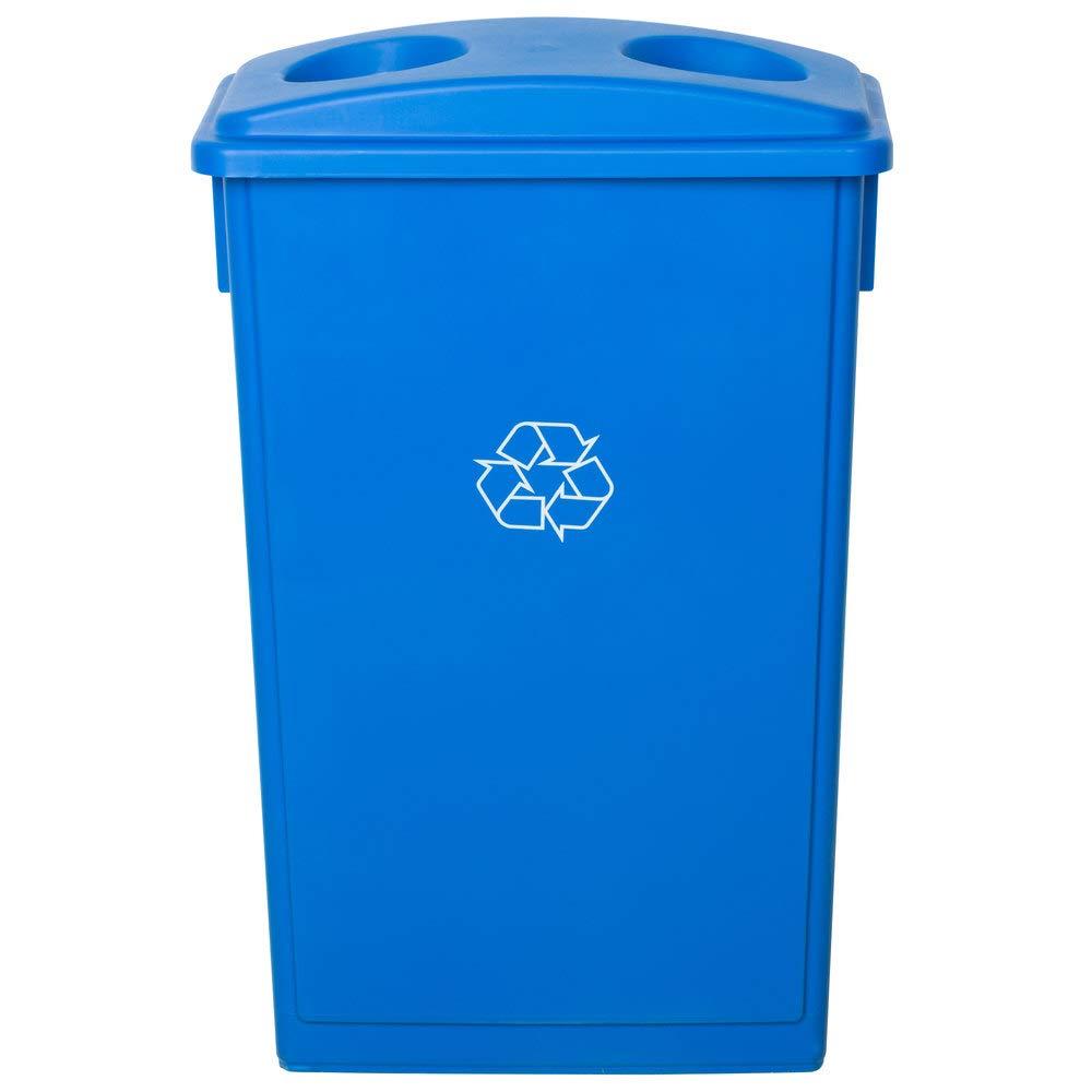 10 Pack Max 88% OFF 92 Qt. 23 Gallon Re High quality 87 Blue Slim Rectangular Liters