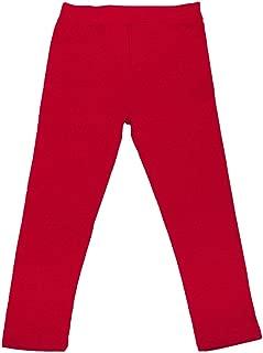 DinoDee Girls Leggings Cotton Ankle Length Pants (5-12 Years) Variety Colors