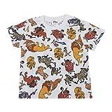 スモール・プラネット Disney ディズニー ライオンキング オールスター 総柄 Tシャツ 100サイズ AWDS6543