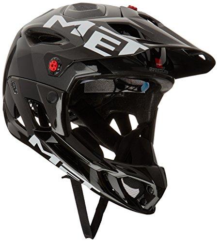 MET Parachute Helm Anthracite/Black Kopfumfang 59-62cm 2020 Fahrradhelm