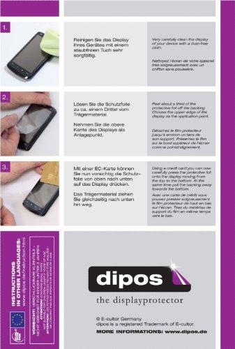 dipos I 2X Schutzfolie klar kompatibel mit Honor 6X Folie Displayschutzfolie - 4