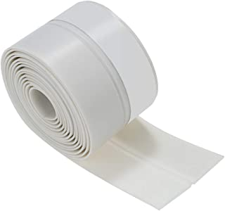 walmeck 3.3ft 1m Seal Strip Silicone Rubber Sealing Sticker Self-adhesive Seal Strip for Door Window Door Noise Stopper an...