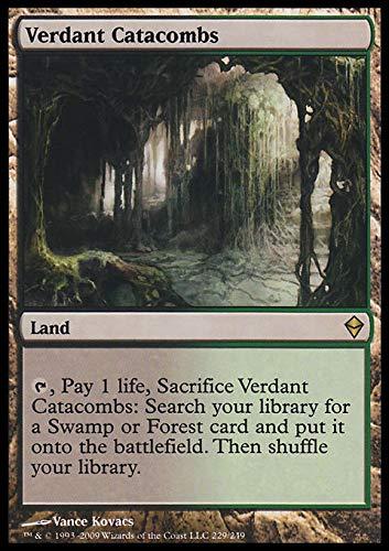 Magic The Gathering - Verdant Catacombs (229) - Zendikar