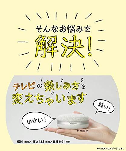 Panasonic(パナソニック)『ポータブルワイヤレススピーカー(SC-MC30-W)』