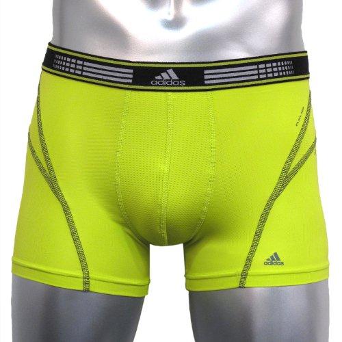 adidas Herren Sport Performance Flex 360 Trunk Unterwäsche Vivid Yellow/Black, X-Large