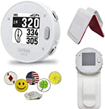 $89 » GolfBuddy Voice X GPS/Rangefinder Bundle with Belt Clip, 5 Ball Markers and 1 Magnetic Hat Clip