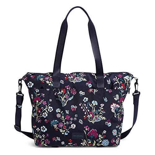 Vera Bradley Recycled Lighten Up Reactive Tote Bag, Itsy Ditsy Floral