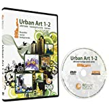 Urban Art 1-2 Backgrounds Bundle-Vector Clip Art Images-Grunge Urban Background-Building Clipart Illustration-Graphic Design DVD
