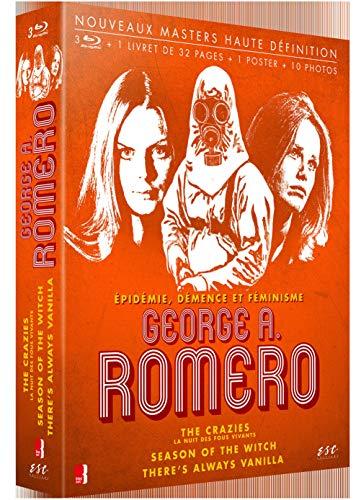 George A. Romero - Cinéaste visionnaire : The Crazies (La Nuit des fous vivants) + Season of the Witch + There's Always Vanilla [Francia] [Blu-ray]