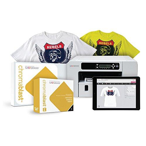 Sawgrass Virtuoso SG1000 Chromablast Printer with CMYK Inks & 200 Sheets of 8-1/2