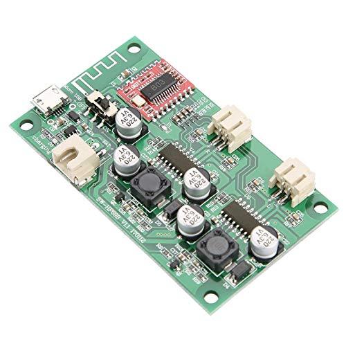 Placa amplificadora Bluetooth de doble canal 2x6W DC 5V / 3.7V batería circuito de bricolaje para proyectos de electrónica de construcción