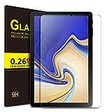 ELTD Glas Bildschirmsfolie für Samsung Galaxy Tab S4 T830/T835, Ro&ed Corners 2.5D, 9H Festigkeit, gehärtetes Glas Bildschirmschutz Glasfolie Panzerfolie für Samsung Galaxy Tab S4 T830/T835 10.5 Zoll (1 Stück)
