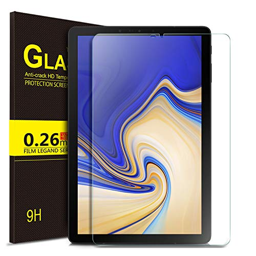 ELTD Screen Protector for Samsung Galaxy Tab S4 10.5 T830N/T835N,Premium 9H Hardness 2.5D Round Edge Tempered Glass Screen Protector for Samsung Galaxy Tab S4 SM-T830N/T835N 10.5 inch (1 Pack)