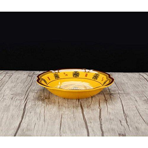 Liuyu Kitchen Home Big Soup Bowl Vaisselle Bol à soupe en porcelaine à base de poisson (taille : 24cm)