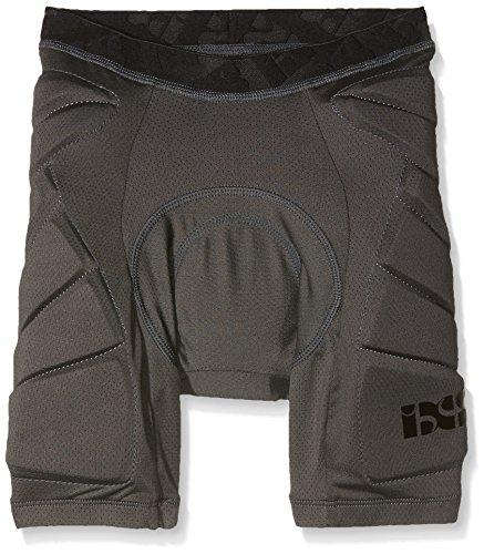 IXS Sports Division Kinder Hack Shorts Lower Body Protective Protektoren, Grey, S