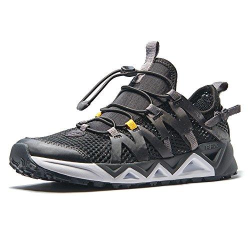 RAX Men's Quick Drying Slip-Resistent Aqua Water Hiking Shoes(US 8)