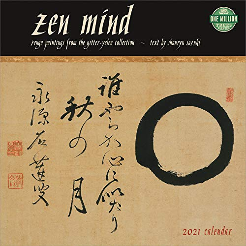 Zen Mind 2021 Wall Calendar: Zenga Paintings from the Gitter-Yelen Collection