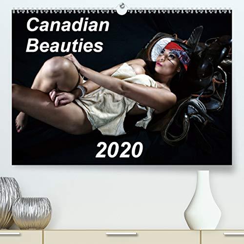 Canadian Beauties 2020(Premium, hochwertiger DIN A2 Wandkalender 2020, Kunstdruck in Hochglanz): A collection of beautiful Canadian female models (Monthly calendar, 14 pages ) (Calvendo Art)