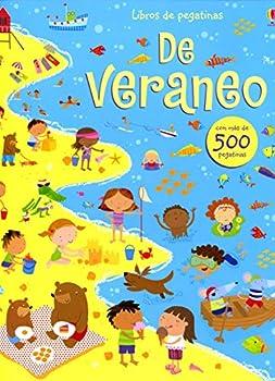 Paperback DE VERANEO - LIBROS DE PEGATINAS [Castillian] Book