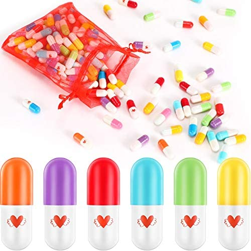 Sumind 120 Pieces Love Capsules Note for DIY Present of Valentine s Day Thanksgiving Day Father product image