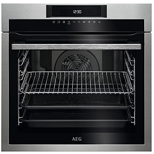AEG BEE641222MForno Elettrico da Incasso Capacità 72 l, Multifunzione Ventilato Potenza 2480 W, Colore Acciaio Inox