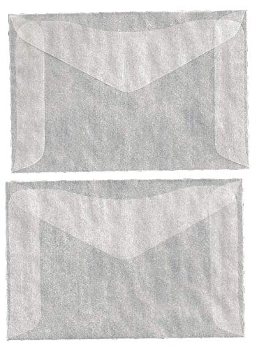 1,000 #4 Glassine Envelopes -- 3 1/4 X 4 7/8 INCHES