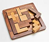 Craftland Wooden Jigsaw Puzzle - Wooden Toys/Games for Kids - Travel Games