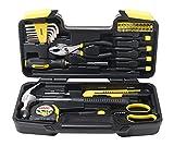 WMC TOOLS Werkzeugset klein 40 teilig kleiner Werkzeugkoffer Werkzeugkasten Haushalt Toolbox Set...