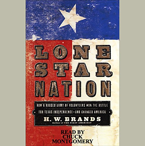 Lone Star Nation audiobook cover art