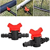 DIY Crafts Garden Hose Pipe 16mm Coupling Pipe Irrigation Water Hose Switch Plastic Valve...