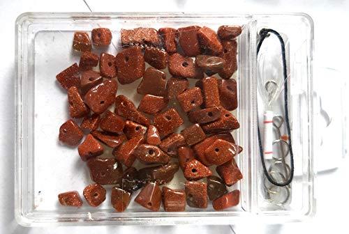 Kit de piedras preciosas irregulares de 3 a 5 mm, cuentas de...